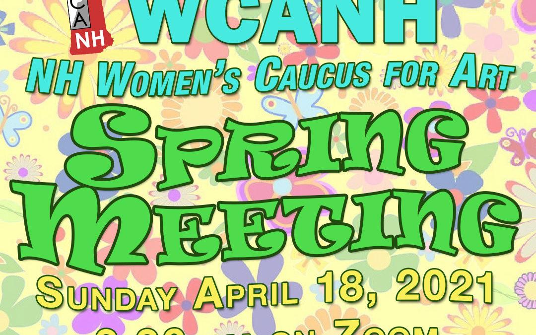 A Virtual Spring Meeting!