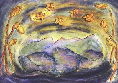 Loretta CR, Hubley, , painting on paper