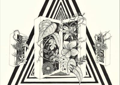 Moriah Sanborn-Portal, Pen & Ink