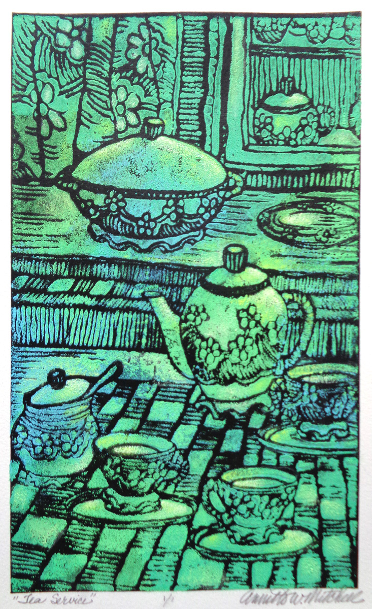 Tea Service by Annette Mitchell