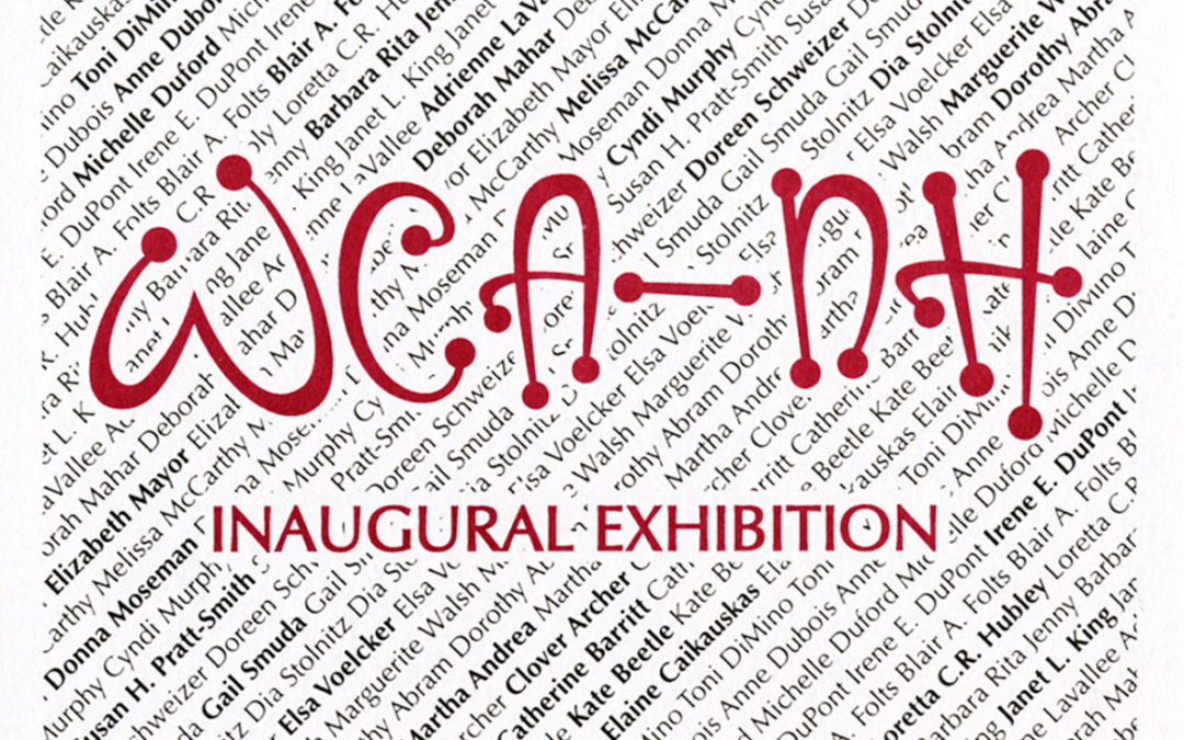WCANH inaugural exhibition postcard