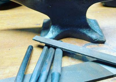 Diane Louise Paul Leather Artisan - anvil