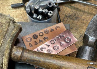 Diane Louise Paul Leather Artisan - tools