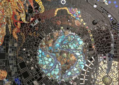 Martha Stevermeyer, Our Precious Rock, mosaic, 1 x 1 meters